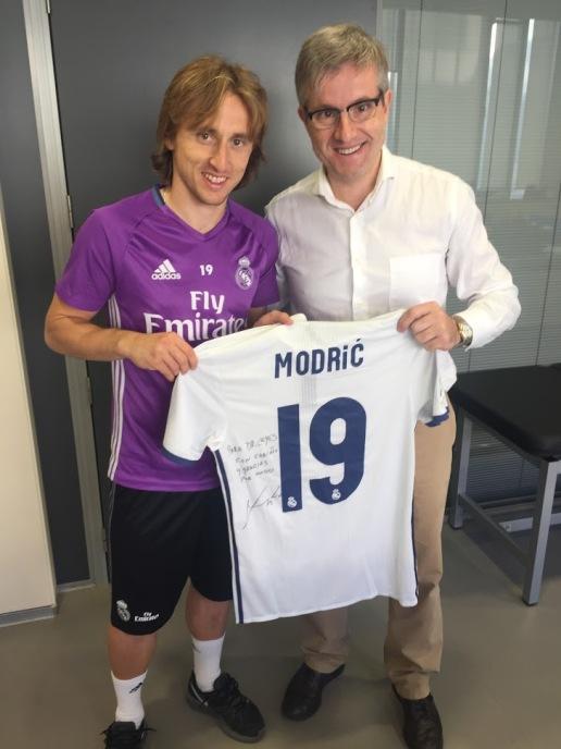 Dr Leyes y Modric