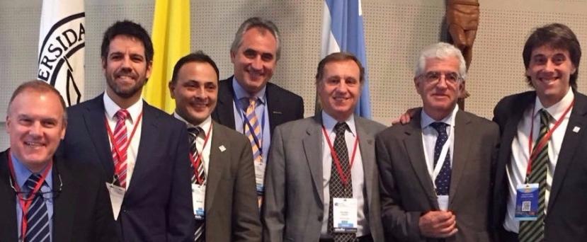 Los Dres. Leyes y Forriol participan en el Congreso de Ortopedia y Traumatología organizado por la CONMEBOL en BuenosAires
