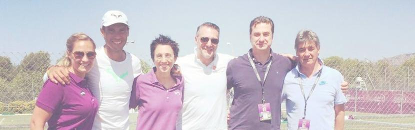 El Dr. Cerrato participa en el servicio médico del 'Mallorca Open'  en el que se dan cita grandes figuras del tenismundial