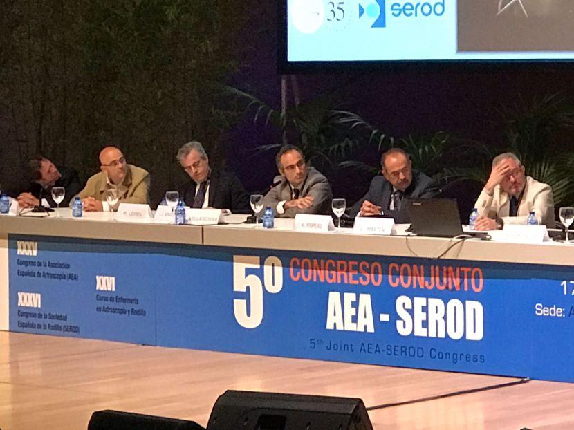 El Dr. Leyes y el Dr. Martín participan en el 5º Congreso AEA-SEROD enAlicante