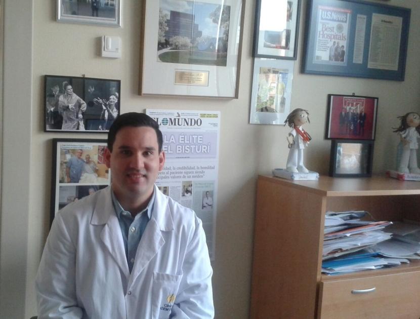 Entrevista al Dr. Gregorio Alejandro Villarreal, que realiza una 'Fellowship' en el Equipo del Dr.Leyes