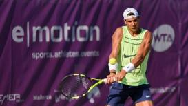 Rafa Nadal, entrena para Wimbledon, junio 2017 en el Mallorca Open