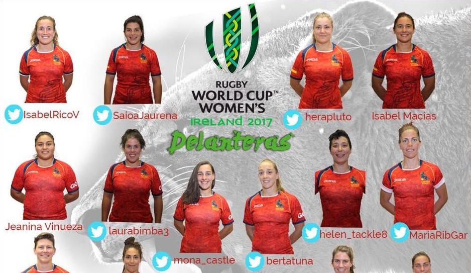 Laura Delgado 'Bimba', en la lista de convocadas para el Campeonato Mundial 2017 de rugby femenino de Irlanda