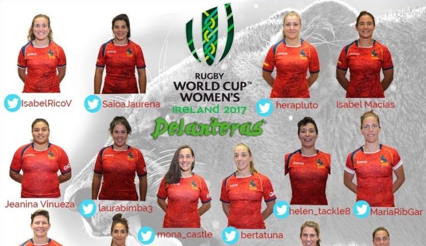 Laura Delgado 'Bimba', en la lista de convocadas para el Campeonato Mundial 2017 de rugby femenino deIrlanda