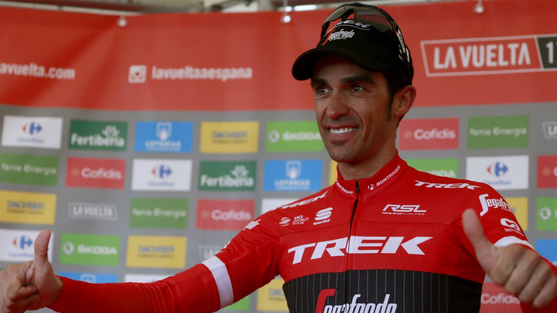 El ciclista español Alberto Contador despide con 'La Vuelta' su carrera profesional
